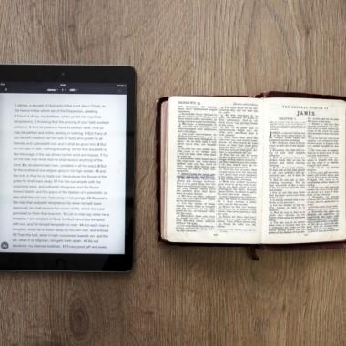 Digital bibelbrug - teknologi har altid to sider