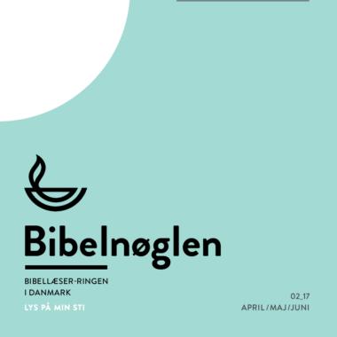 Har du endnu ikke modtaget april-nummeret af Bibelnøglen?