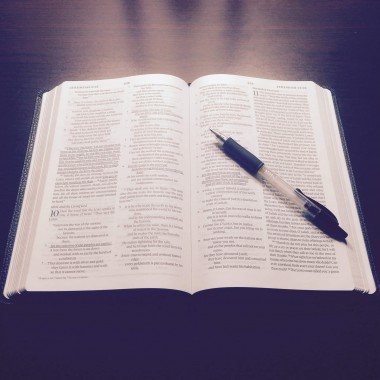 Lær bibelvers udenad