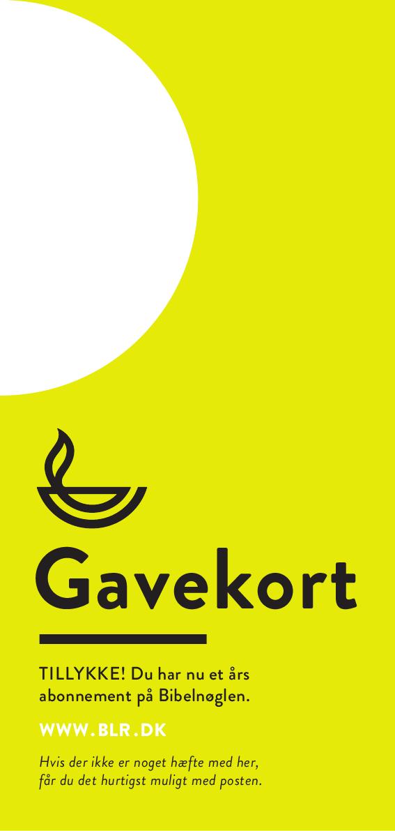 Gavekort BIN